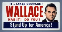 George Wallace Campaign Placard