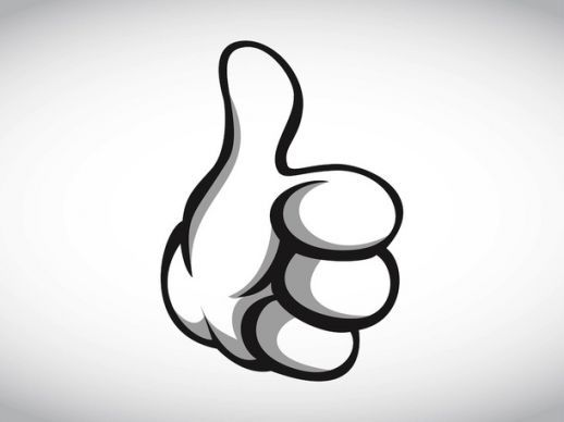 LIKE this! THUMBS UP!