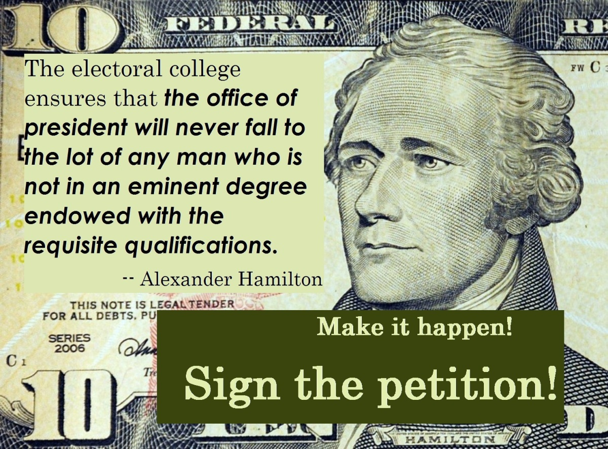 Electoral College PETITION!