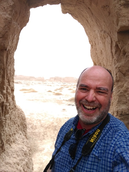 I am so happy! I am ALONE -- a party of one with no other tourists in sight -- in an ancient ruin to linger over anything I want, take all the pictures I want, to take as long as I want...