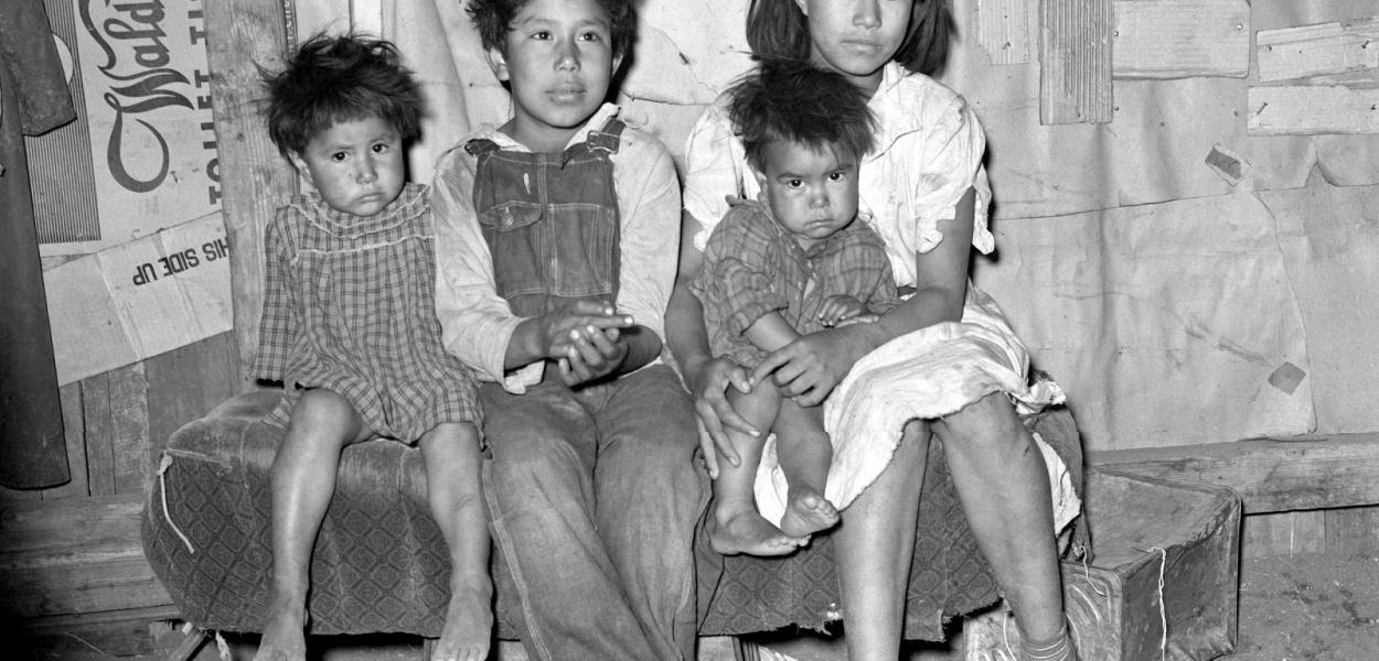 Russell Lee - Mexican children, San Antonio, Texas, 1939