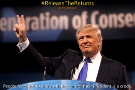 Nixon #ReleaseTheReturns Crook