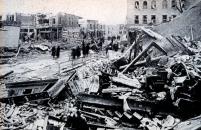 Destruction Tornado Damage Omaha 1913 Conflict Disaster Infighting