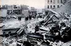 Destruction Tornado Damage Omaha 1913 Conflict Disaster Infighting