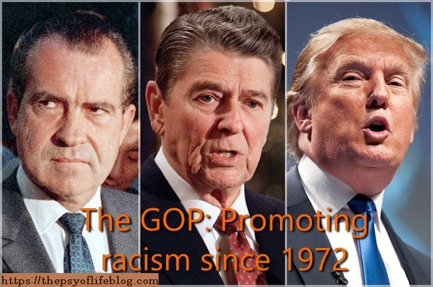 The Republicans have been promoting racism since Nixon