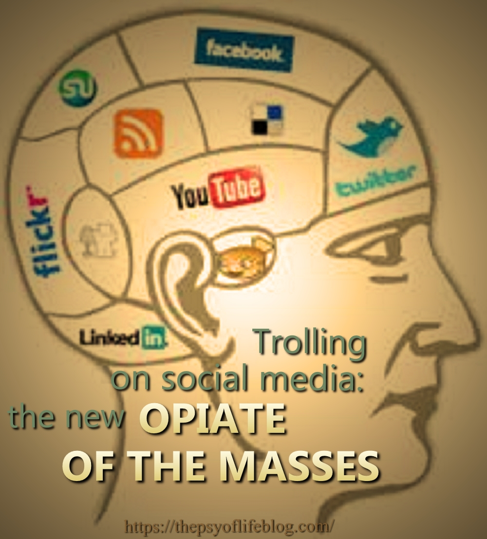 Trolling, Trolls, Social Media, Opiate, Masses, Karl Marx, Edward R. Murrow