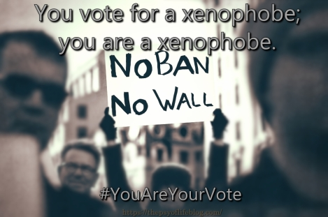 You Are Your Vote - Xenophobe