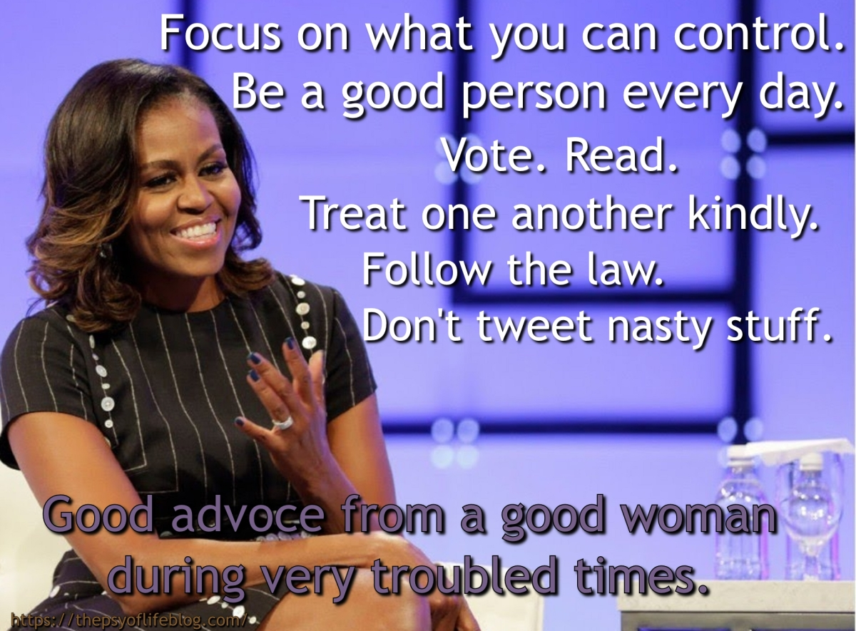 Deep Thoughts with Michelle Obama