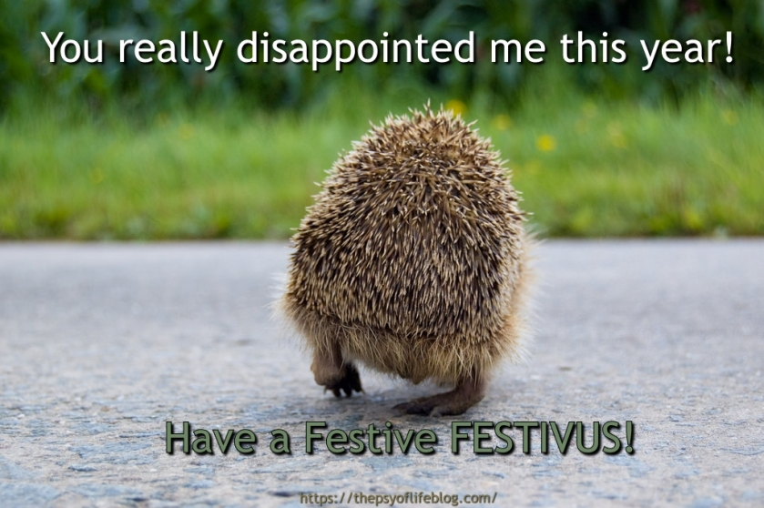 Festivus greeting cards are bound to disappoint the psy of life m4hsunfo