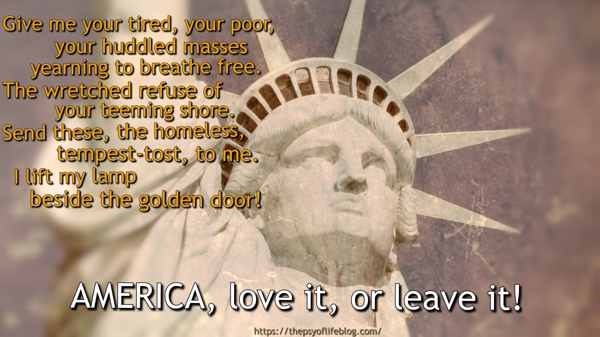 MEME: America, Love it, or Leave it!