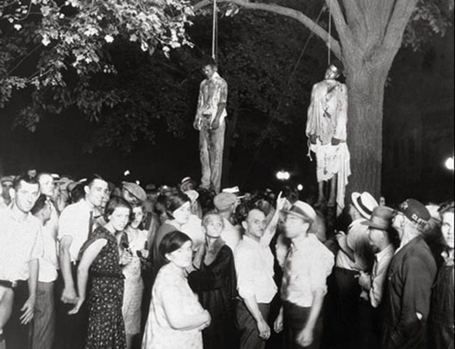 Front Row of a Public Hanging Lynching Jokes Reveal Personality