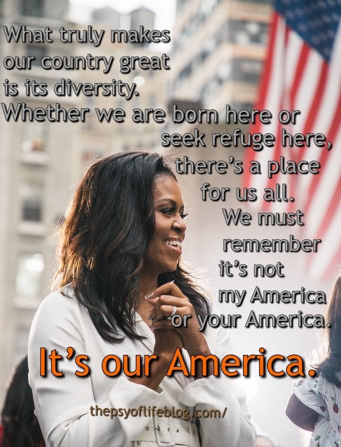 Michelle Obama, meme, our America