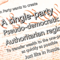 Meme: A Single-Party, Pseudo-Democratic Authoritarian Regime Just Like in Russia
