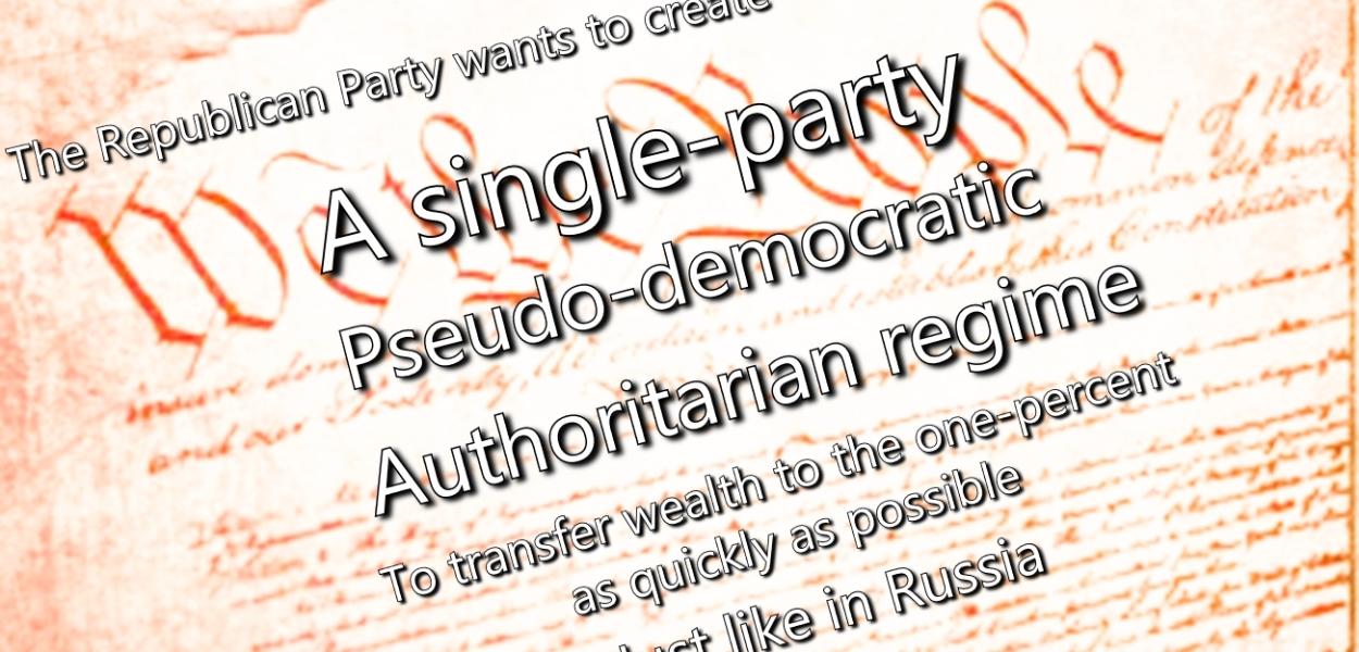 Single-Party Pseudo-Democratic Minority-Rule