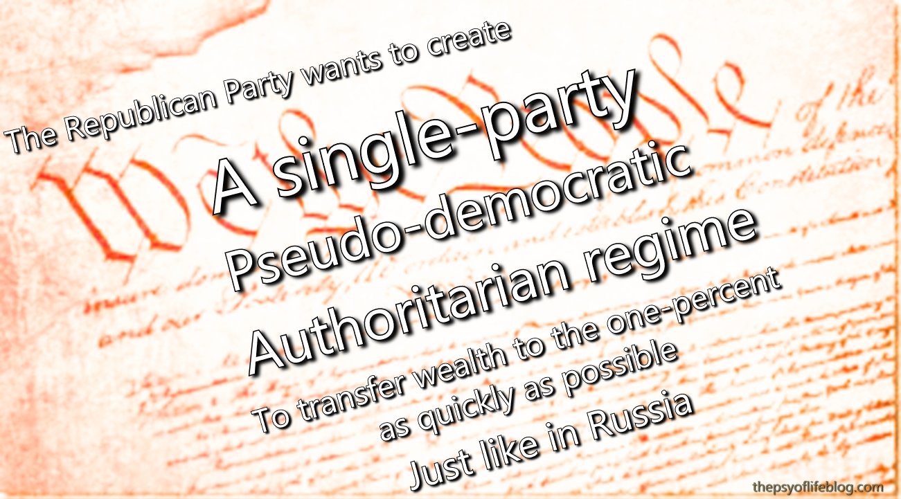 Single-Party Pseudo-Democratic Minority-Rule