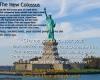 Emma Lazarus, The New Colossus, Ken Cuccinelli, immigration