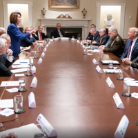 A Quickie: Body Language Tells The Story of Pelosi Throwing Down Like A Boss