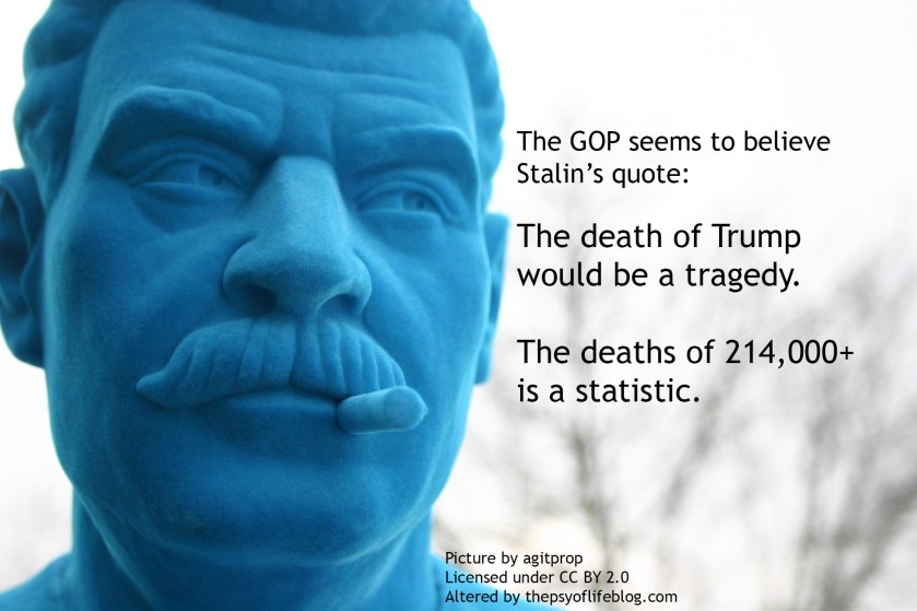 The Death of Trump Stalin's Death Quote