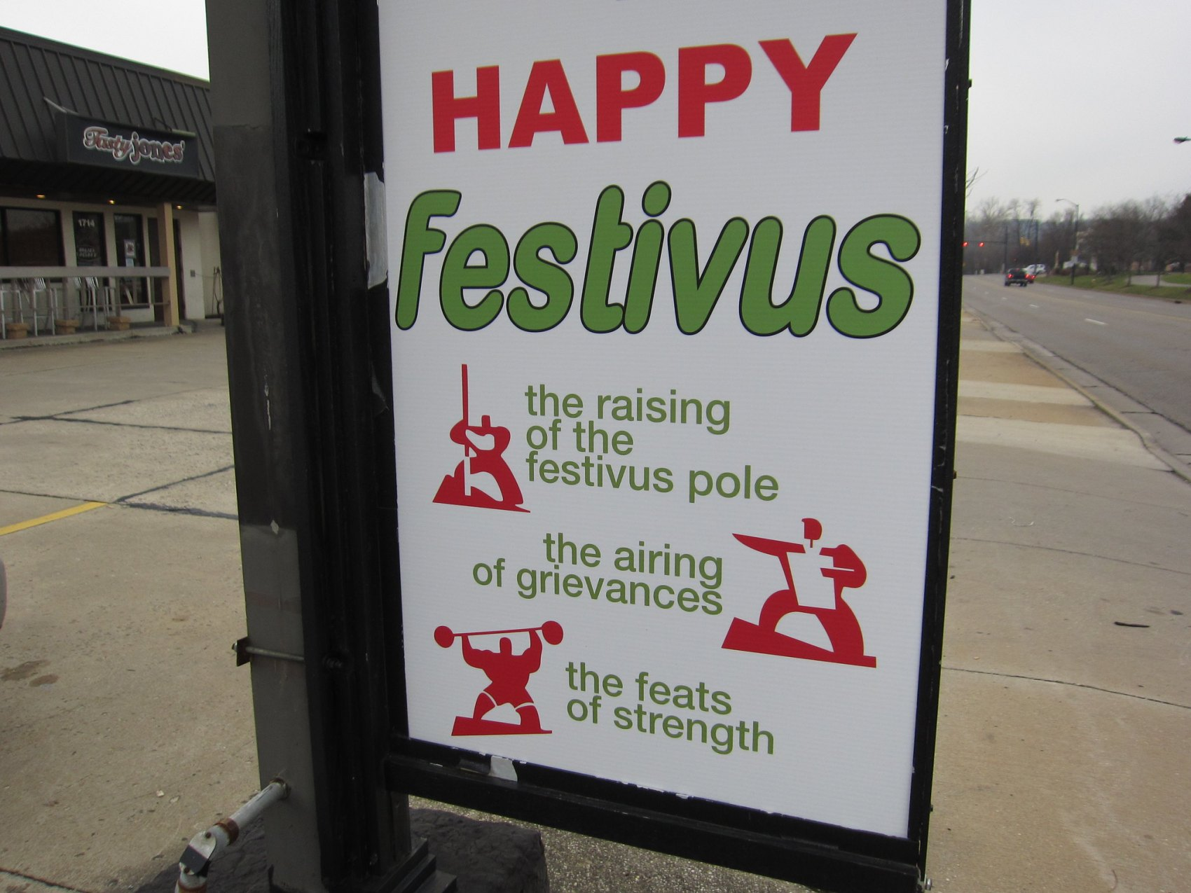 2020 was made for FESTIVUS, Festivus 2020