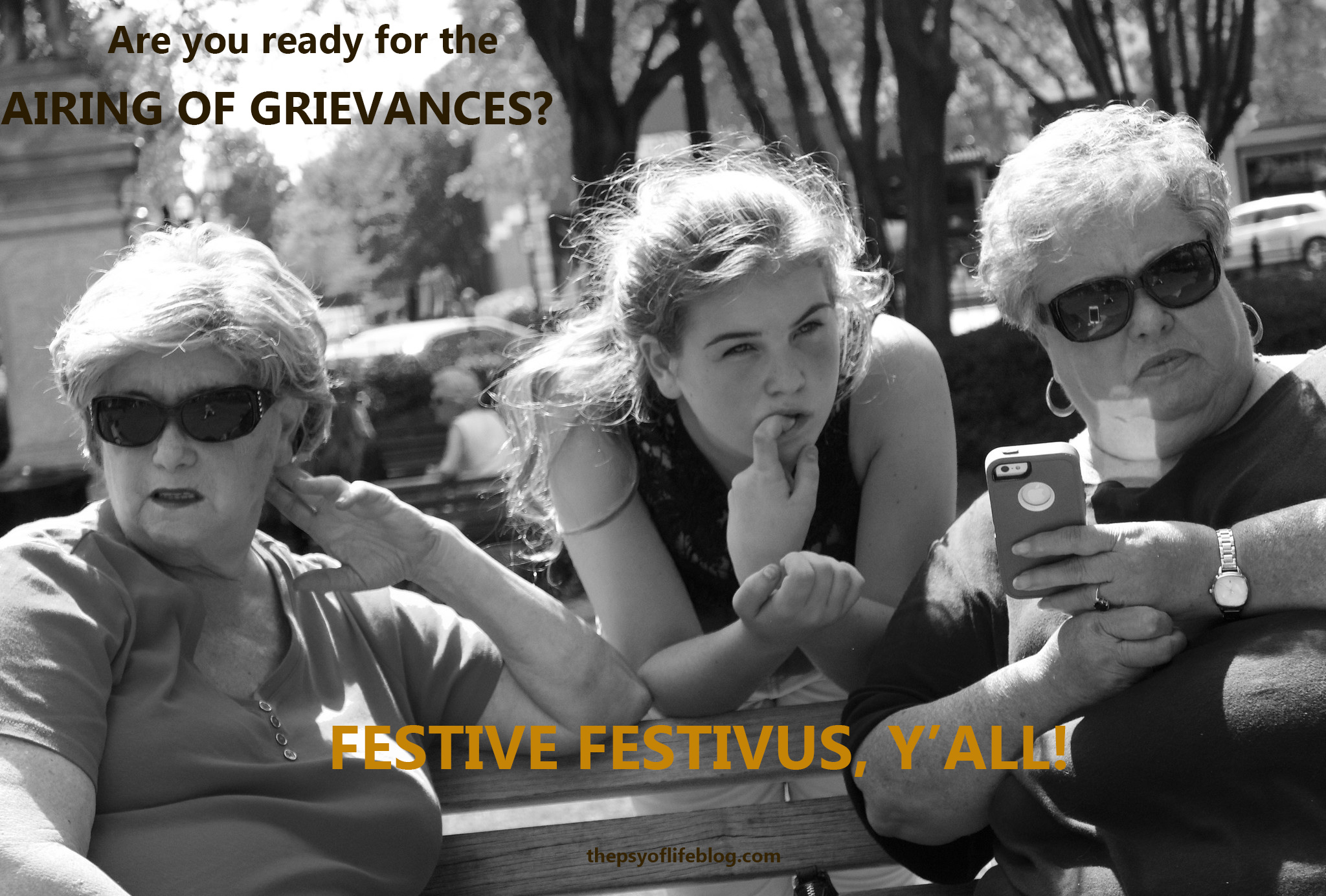 Festivus Card: Airing of Grievances