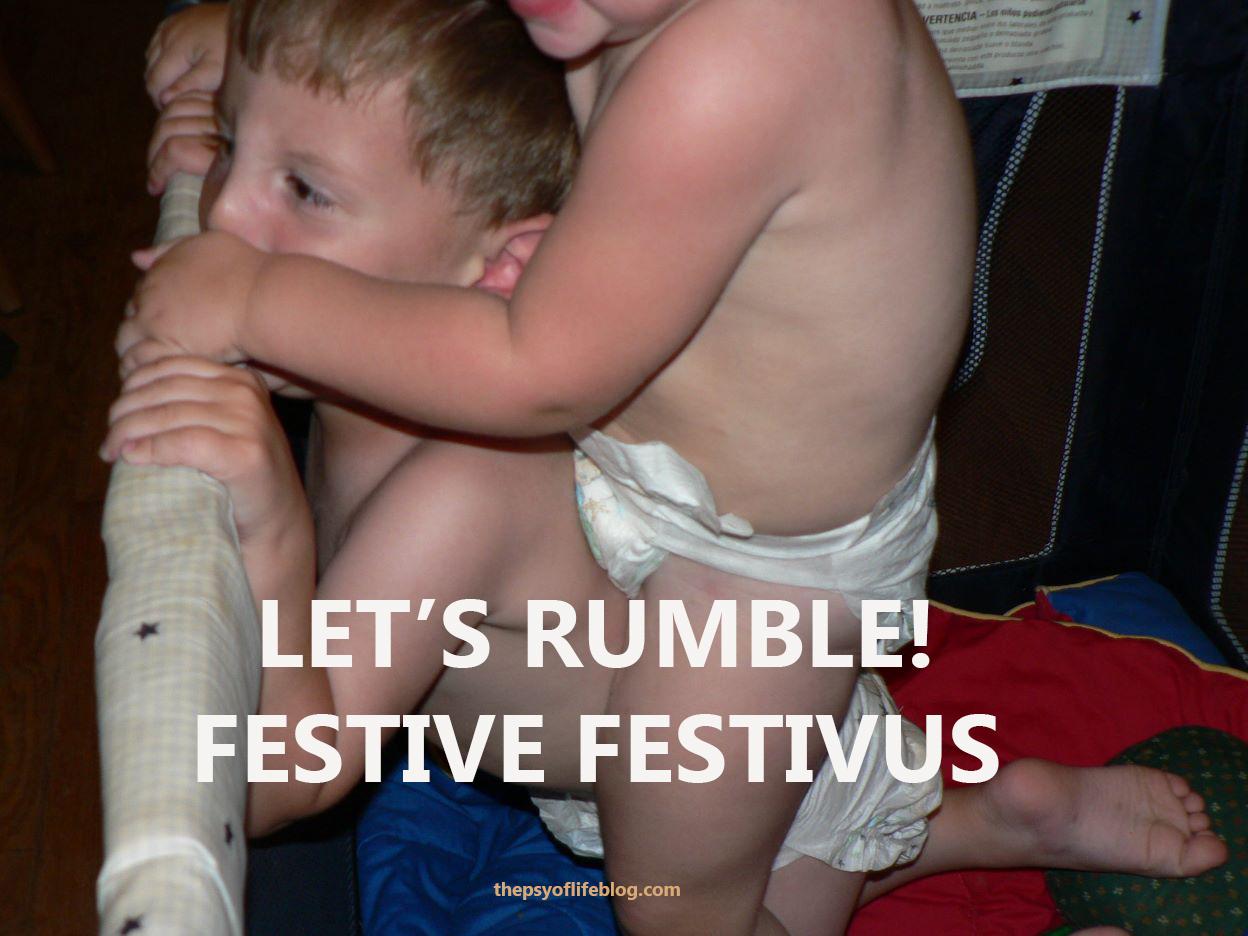 Festivus Card: Baby Wrestling