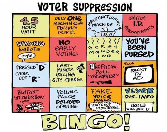Will voter suppression hurt GOP voters?