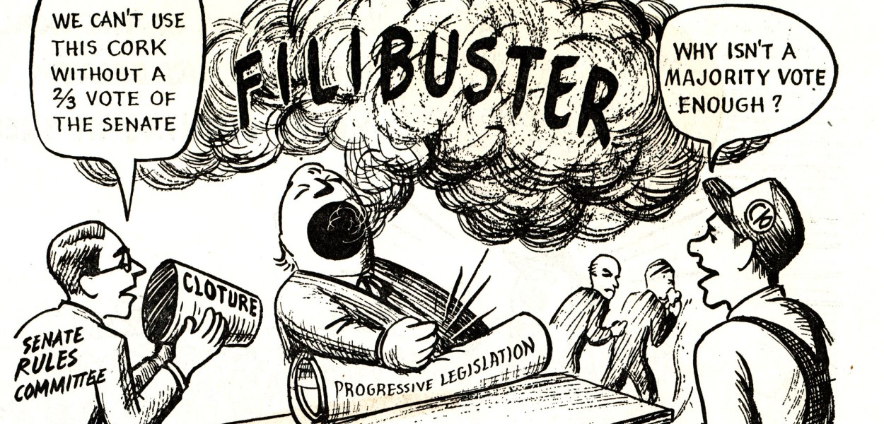 What can voters do to change the filibuster?