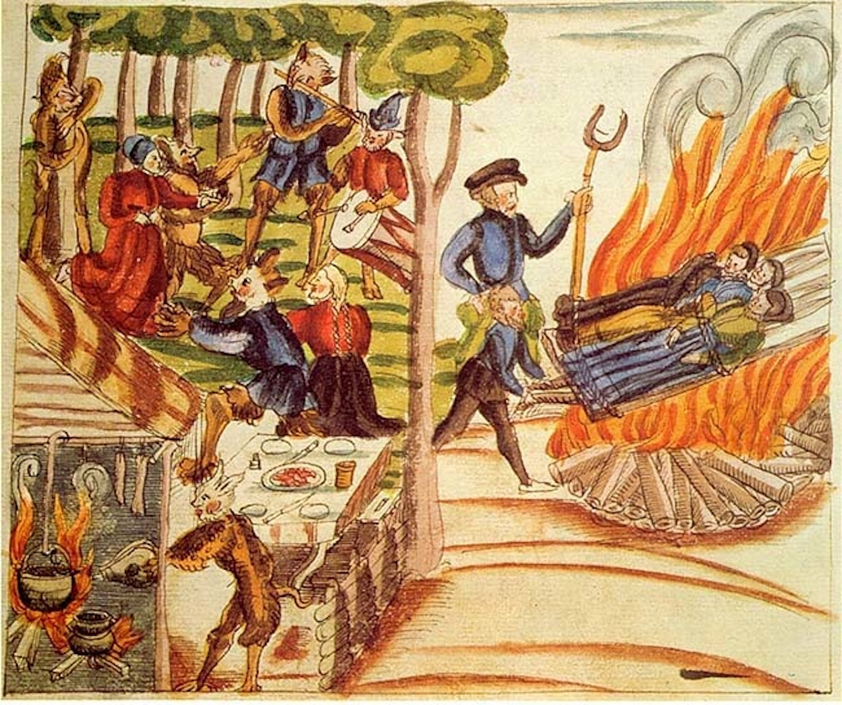 What are the lessons we can learn about our current pandemic and stolen election hysterias from the Witch Hysterias of Medieval Europe?