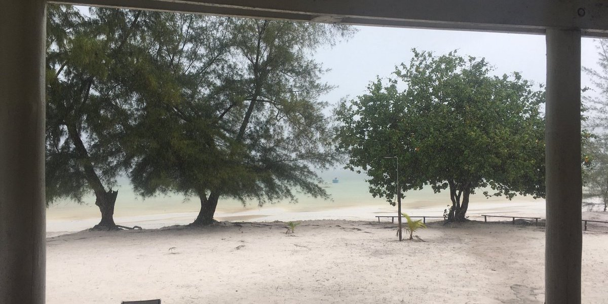 What happened on Ye Olde Blogge during the great Cambodian beach getaway?